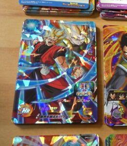 DRAGON BALL Z DBZ DBS HEROES CARD PRISM HOLO CARTE UM1 58 SR DBH SUPER RARE NM