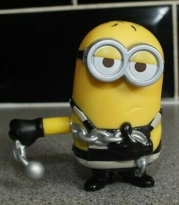 McDonalds Minion Movie 2015 Toy Figure Ball and Chain Minions](Ball And Chain Movie)
