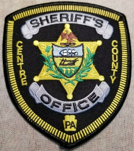 PA Centre County Pennsylvania Sheriff Patch