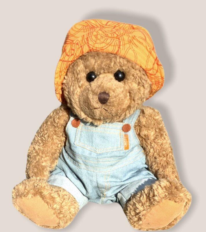 "Unicef 14"" brown plush Teddy Bear Collectable stuffed animal"