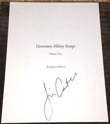 JIM CARTER SIGNED AUTOGRAPH DOWNTON ABBEY FULL 67 PAGE PILOT SCRIPT wEXACT PROOF