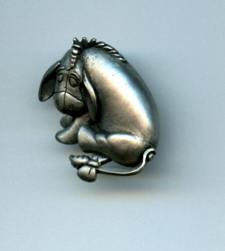 Disney Winnie the Pooh friend Eeyore Pewter Made in the USA Pin
