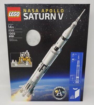 Lego Ideas Nasa Apollo Saturn V Rocket    21309   Factory Sealed