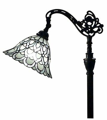 Glass Accent Floor Lamp (Large Floor Lamp Stained Glass Tiffany Style Accent Light Craftsman)