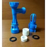 Waterbed Fill and Drain Pump Faucet Adapter Kit Blue Magic - Wholesale Prices