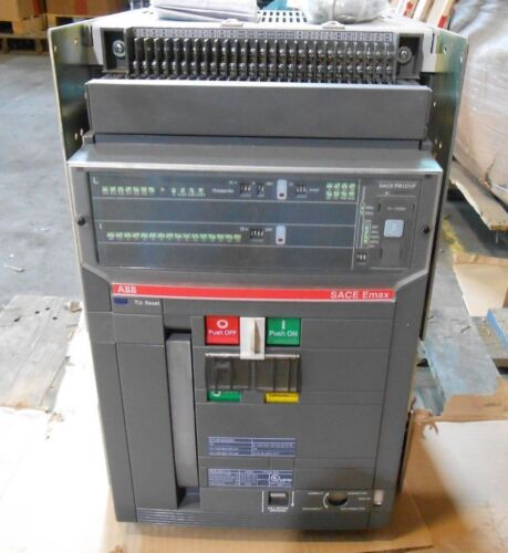 Abb E2s-a16 Sace Emax Power Circuit Breaker 1600 A Load Tested 120 V Electric Uv