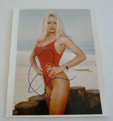 Pam Anderson Baywatch Autographed Signed 8x10 Photo PSA BAS Guaranteed