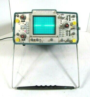 Tektronix 465m 2 Channel 100 Mhz Oscilloscope Anusm-425 V1 Good Working