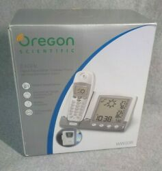 Oregon Scientific 2.4GHz Cordless Phone WW338 Weather Station, Dual Alarm Clock