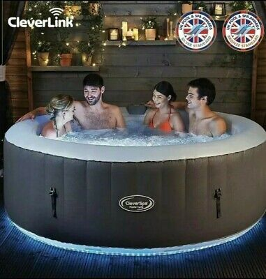 BNIB CleverSpa Monte Carlo 6 Person LED Hot Tub with Cleverlink 48hr delivery