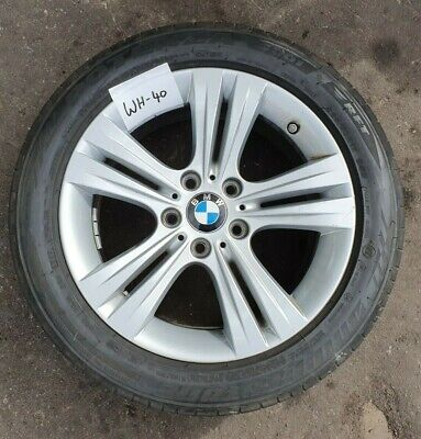 """BMW 2015 17"""" ALLOY WHEEL & TYRE GENUINE FRONT - 3 SERIES F30 F31 4 SERIES F32"""