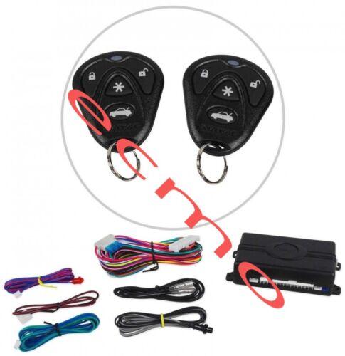 AVITAL 3100LX 3 CHANNEL CAR ALARM SECURITY SYSTEM W/ 2 REMOTES NEW