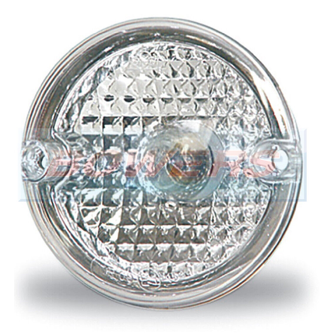 Aspock Round Point Rear 95 mm round Reverse Light Lamp For Brian James remorques