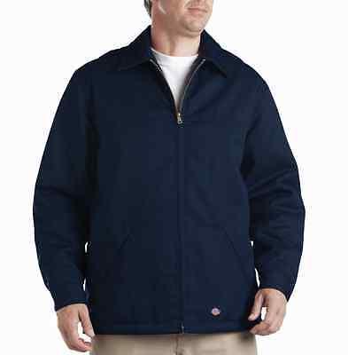 Dickies Hip Length Twill Jacket 78266AL SMALL DARK NAVY