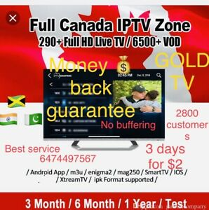 Iptv box service at your home install world live tv