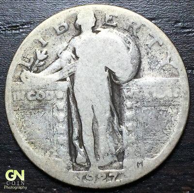 1927 S Standing Liberty Quarter  --  MAKE US AN OFFER!  #R4095