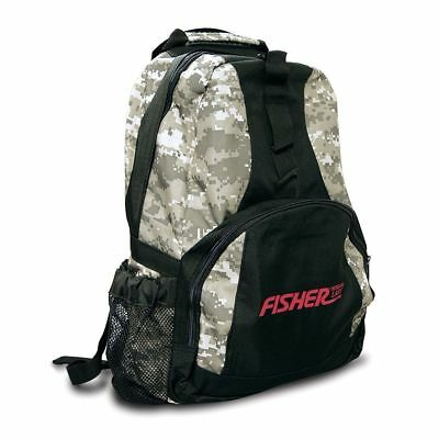 Fisher Metal Detector Digital Camo Style Backpack FCBACKPACK Best