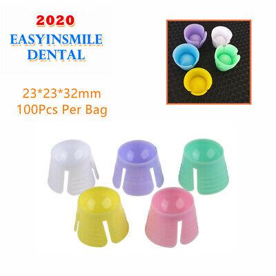 Easyinsmile Dental Disposable Dappen Plastic Multi-purpose Mixing Bowls 100pcs