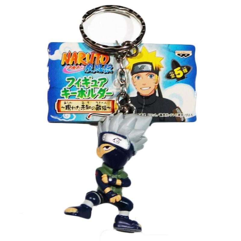 Naruto Shippuden New Enemy Chibi Kakashi Figure KeyChain Banpresto Official