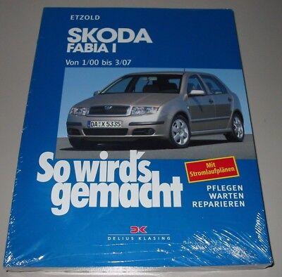 repair manual skoda fabia i type 6y petrol + diesel 1/2000 - 03/2007