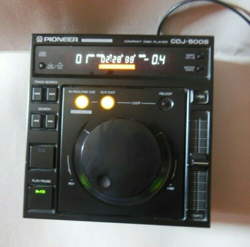 Pioneer CDJ 500s Audio CD Player, Fully Working