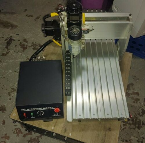 3 Axis CNC3040 USB Desktop Engraving Milling Machine, With Upgrades and EXTRAS!