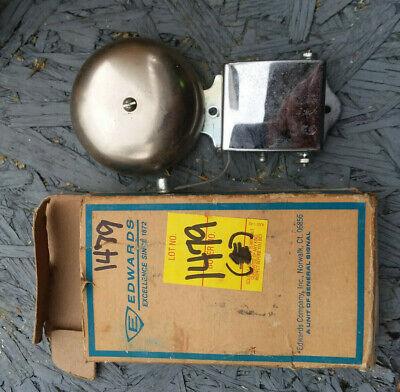 Edwards 13-3G1 Vibrating Bell,24V DC,0.25A, Gong Size: 3