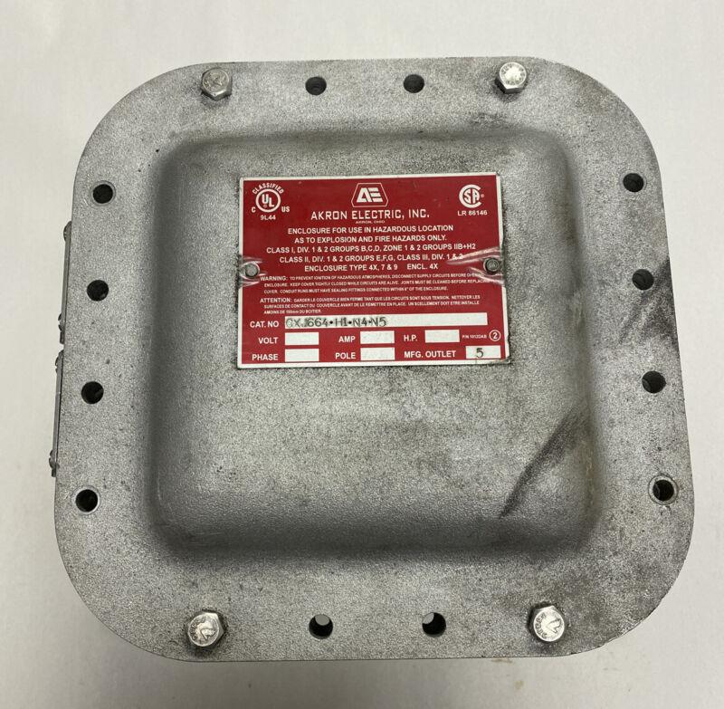 Akron Electric Cxj664-h1-n4-n5 Explosion Proof Enclosure
