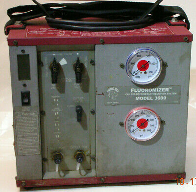 Fluoromizer Model 3600 Refrigerant Recovery Machine