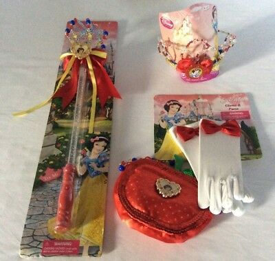 Wholesale Disney Costumes (Disney Parks Snow White Costume: Magical Light-up Wand Tiara, Purse, Gloves)