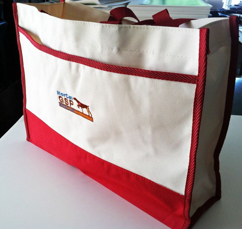 CL Stylish NorCal GSP Rescue Logo Tote