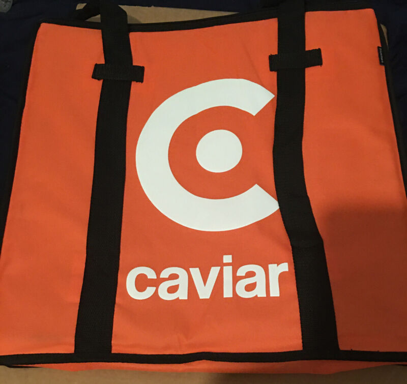 """Wow* Caviar Pizza Delivery Bag Thermal Insulated 20""""x 20""""  NYLON"""