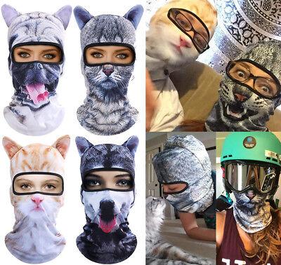 US 3D Animal Halloween Party Outdoor Cycling Ski Balaclava Neck Warmer Face Mask - Cycle 3 Halloween