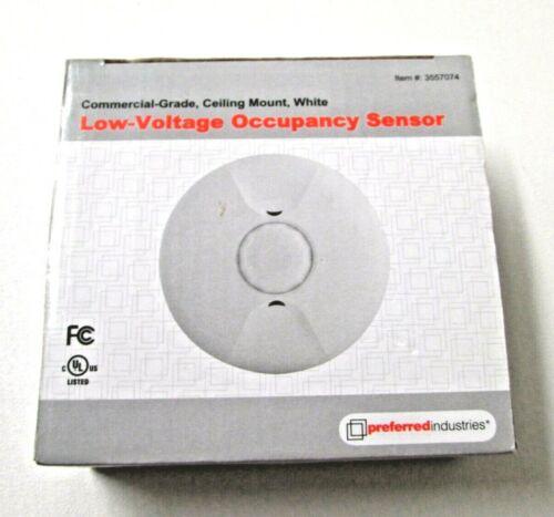 24 Volt White Ceiling Mount Occupancy Motion Sensor Detection MPC-50L # 3557074