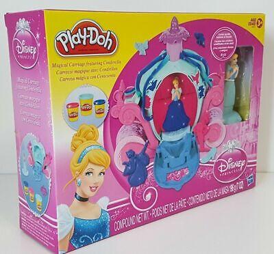 Disney Princess Play-Doh Cinderella Magical Carriage New - CORNER DAMAGED