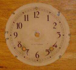 Antique Seth Thomas Ships Wheel Mantel Clock Dial Vintage - Original Parts