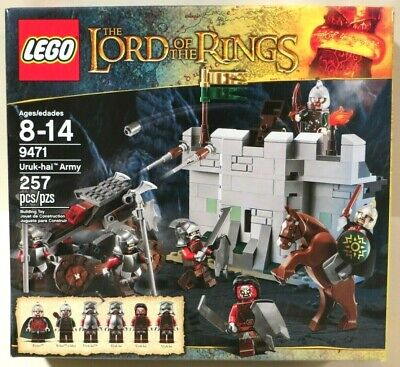 """LEGO The Lord of the Rings """"URUK-HAI ARMY"""" (9471) NEW SEALED"""