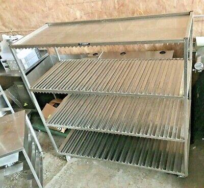 Lakeside 848 Stainless Steel 3 Shelf Sheet Pan Drying Rack