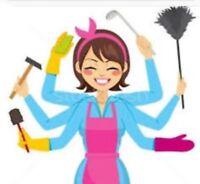 Femme de ménage/entretien disponible à Laval