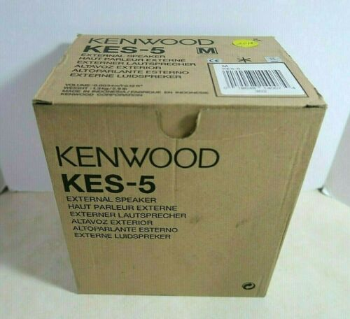 Kenwood KES-5 External Radio Speaker 40 Watts 4 Ohms - New OEM