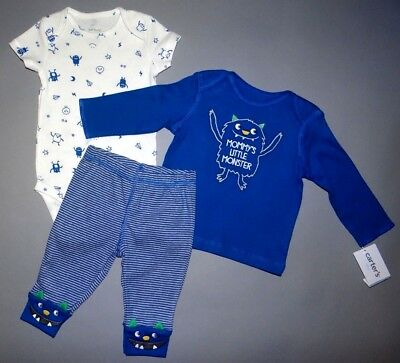 Baby boy clothes, 18 months, Carter's Little Baby Basics 3 piece set/New Arrival