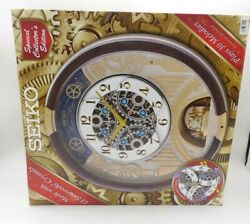Seiko Melodies in Motion Animated Musical Christmas Carol Wall Clock