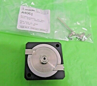 New Knauer Uv Detector A4061 Flow Cell 10mm 10ul Thermo Scientific Agilent