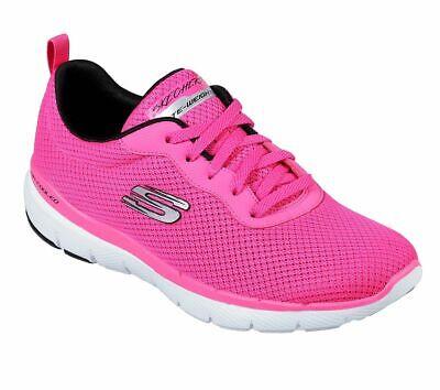 Skechers Sport Womens FLEX APPEAL 3.0 FIRST INSIGHT Sneakers Damen Schuhe Pink