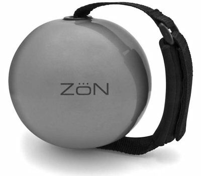 ZoN Weighted Exercise Ball with Adjustable Hand Strap - 4 lb