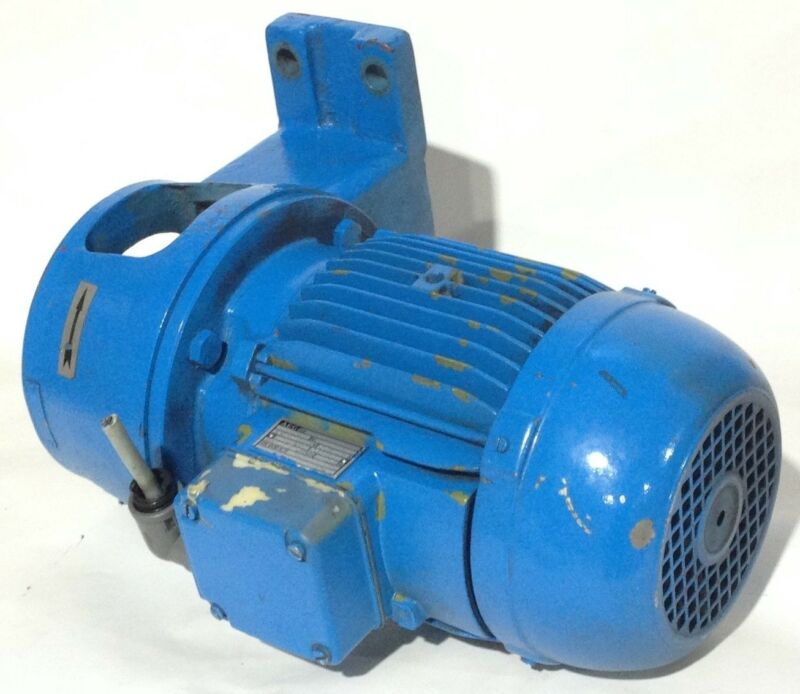 AEG AM90LX2 Industrial Motor 3PH 220/460V Electric Motor 2.2kW 3420 RPM AM90 LX2