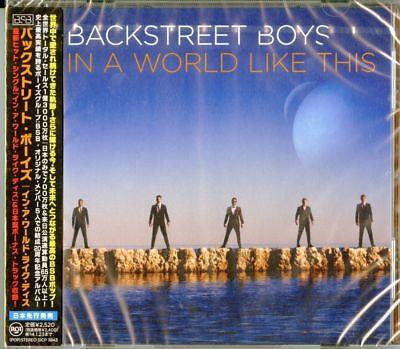 BACKSTREET BOYS-IN A WORLD LIKE THIS-JAPAN CD BONUS TRACK F30 comprar usado  Enviando para Brazil