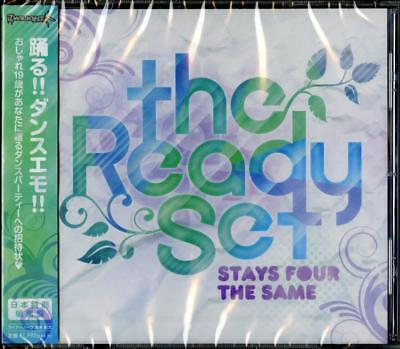 THE READY SET-STAYS FOUR THE SAME-JAPAN CD