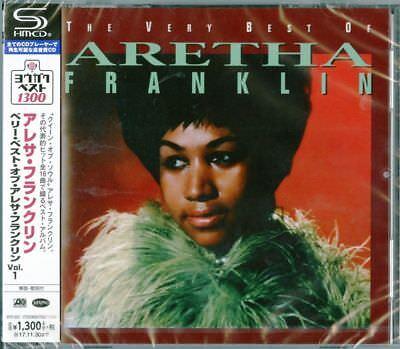 ARETHA FRANKLIN-THE VERY BEST OF ARETHA FRANKLIN VOL.1-JAPAN SHM-CD (Aretha Franklin Best Vocals)