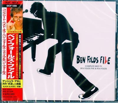 BEN FOLDS-BEN FOLDS FILE - COMPLETE BEST OF BEN FOLDS FIVE & BEN...-JAPAN CD